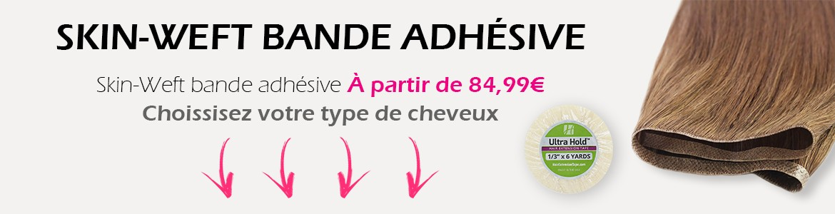 Extensions bandes adhésives SKIN WEFT
