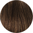 Chatain Nº6 - Queue de cheval cheveux 100% naturels lisses